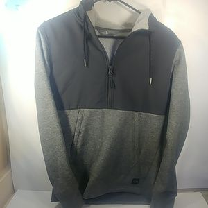 The North Face Small  Black & Grey Quarter Zip